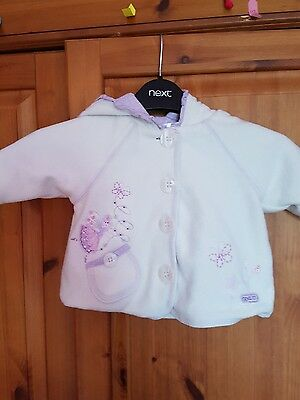next 0-3 months baby girls coat