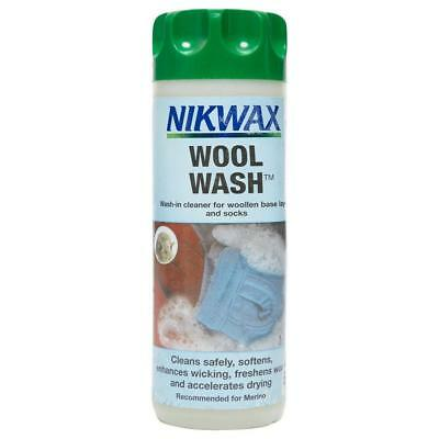 Nikwax Wool Wash 300Ml Fabric Washing Treatment One Colour