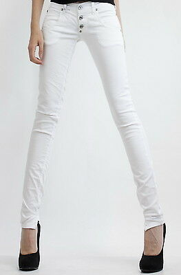 PLEASE Jeans P83 Slim Fit cavallo basso 3 botton online skinny Donna Italy