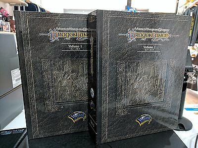 AD&D DragonLance Mini-Modules Volume 1 & Volume 2  RARE TSR /Wizards