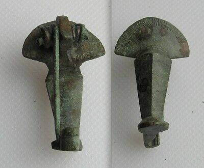 Complete With Pin Roman Bronze Knee Brooch
