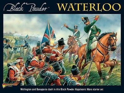 Warlord Games Black Powder Waterloo Starter Set 28mm Scale Miniatures