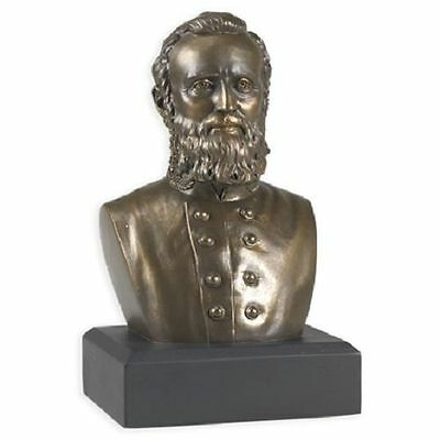 Stonewall Jackson Bust Sculpture Civil War Historical Figure Statue