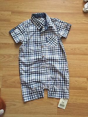 Bnwt Baby Boy 3-6 Months Smart Shirt Outfit