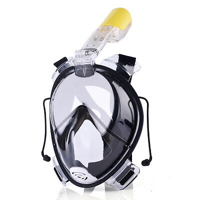Scuba Diving Snorkel Mask Set For Child, Kids & Adults Snorkeling Gear Equipment