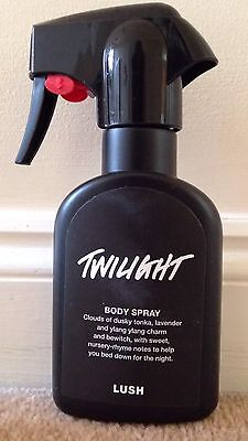 LUSH TWILIGHT BODY SPRAY 200ml Oxford Street Exclusive Rare Limited Edition