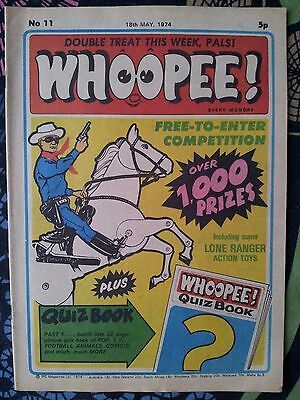 WHOOPEE! Comic - Issue No 11 - 1974 - UK Paper Comic