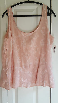 *NWT* Old Navy Women's Blush Pink top size XL