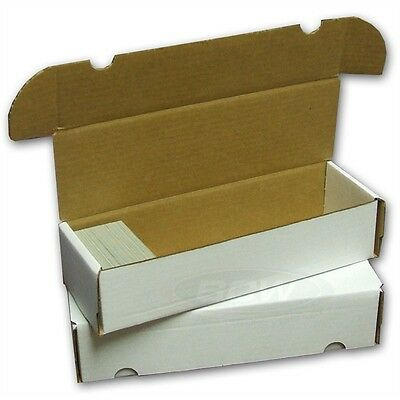 Card Storage Box Holds 660 Cards - 10 Box Pack