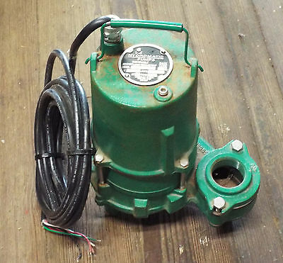 1 Used Hydromatic Pumps Spd50Mh5 20 Submersible Effluent Pump ***Make Offer***
