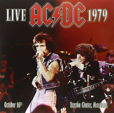 AC/DC - Live 1979 - Towson Center, Maryland, October 16th (2016)  180g 2LP  NEW