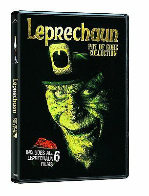 Leprechaun Pot of Gore Collection Complete Horror Movies 1 2 3 4 5 6 Box/DVD Set