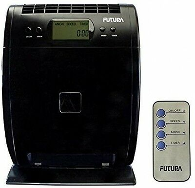 Futura 40W Pro HEPA Air Purifier Ioniser, Cleans Air Removes Smoke, Dust And