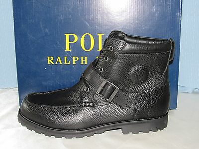 Ralph Lauren Polo Mens Boots Shoes Size 9.5 D New With Box