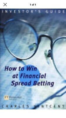 Financial Spread Betting by Charles Vincent (Paperback, 2001)