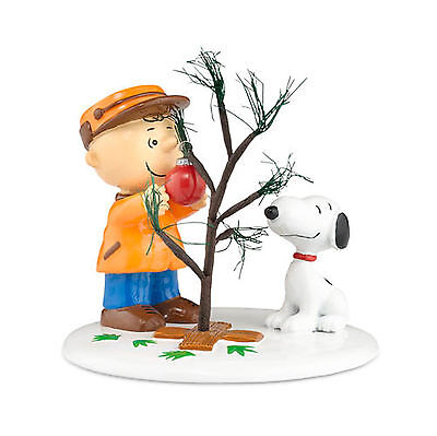 Dept 56 Peanuts Christmas Village Charlie Brown Snoopy The Perfect Tree 809413