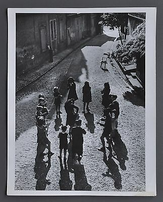 Ralph Theodore Morse 1917-2014 Vintage Silver Gelatin Photo Spain Family of Man