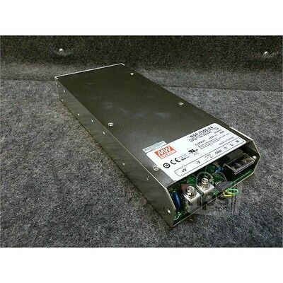 Mean Well RSP-1000-24 100-240VAC PFC Power Supply, 12A, +24VDC