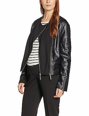 (TG. IT 42 (DE 36)) bellybutton Jacke 1/1 Arm, Giacca Donna, Schwarz (Stretch