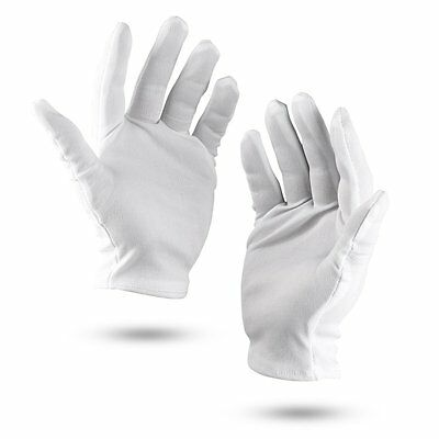 Working Gloves 8 pairs Lightweight Nylon Protective Film Handling Glove O4M2