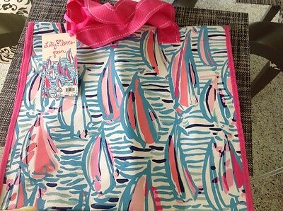 NWT LILLY PULITZER - Market Bag - Red Right Return