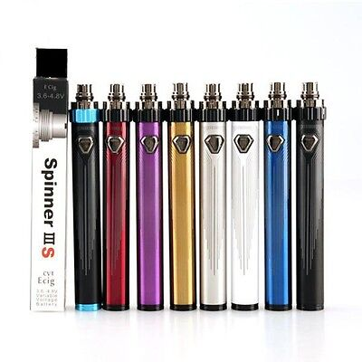 Spinner 3s IIIS 1600 mAh Twist Variable Voltag Battery Vision 2 Upgrade 3.6-4.8V