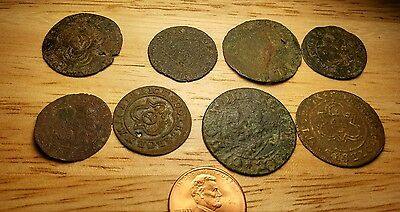 8 Medieval Coins? Good Condition For Age No Reserve #23