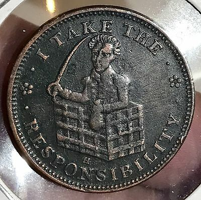 Mule I Take The Responsibility Hard Times Token. Nice Collector Token for you.