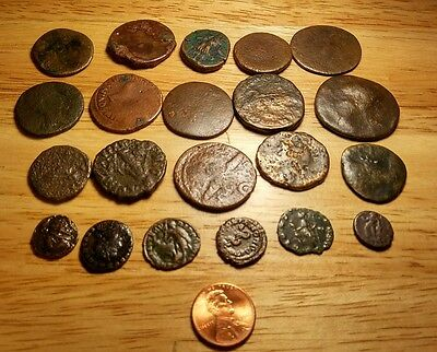 21 Ancient Roman Coins  Good Condition For Age No Reserve #19