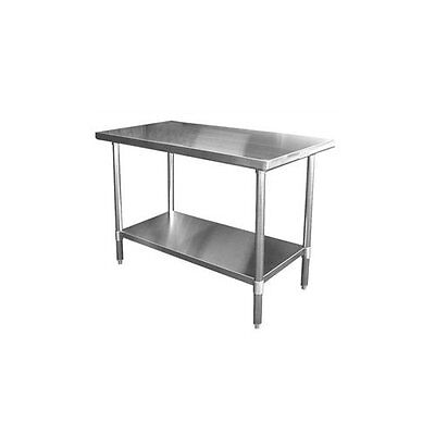 "Blue Air EW3060 NSF Rated 430 Stainless Steel Work Table - 30 "" x 60"" NEW"