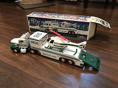 1995 Hess Truck With Helicopter
