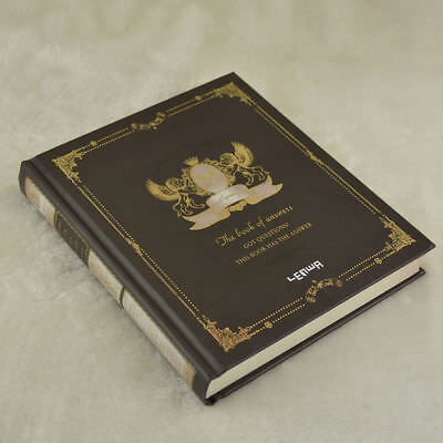 Black Vintage Diary Notebook Journal Notepad Hard Cover Paper Notebook
