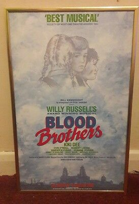 Blood Brother Theatre Poster