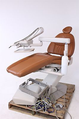 Adec 1040 Cascade Dental Ultraleather Exam Chair w/ Euro Delivery System