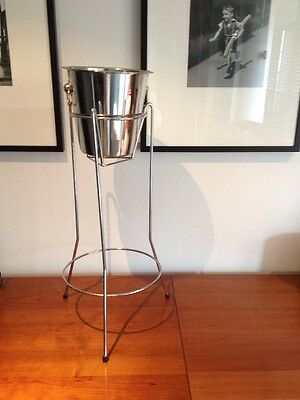 Champagne/Ice Bucket With Stand
