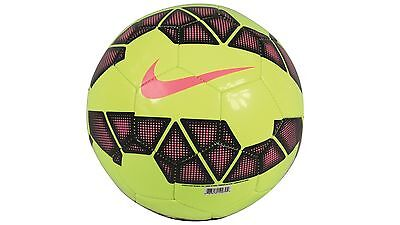Nike Pitch Soccer Ball Ideal for Practice Sessions - Size 5 Volt/Black/Pink