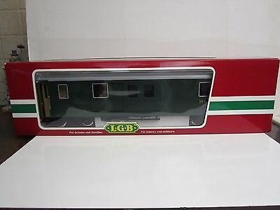 LGB G #31690 RhB Green Baggage Car