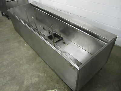 8' Foot Restaurant Grease Exhaust Ventilation Hood Stainless Steel W/ Filters