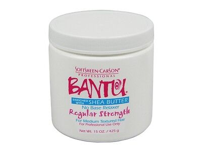 Soft Sheen Carson Bantu No Base Regular Strength Relaxer with Shea Butter 14.3oz