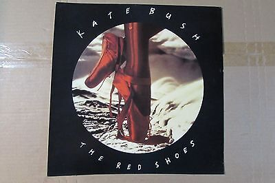 KATE BUSH red shoe diaries STORE RECORD PROMO FLAT (no vinyl, ad only)