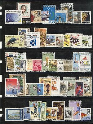 Mauritius 200 different stamps collection lot FU