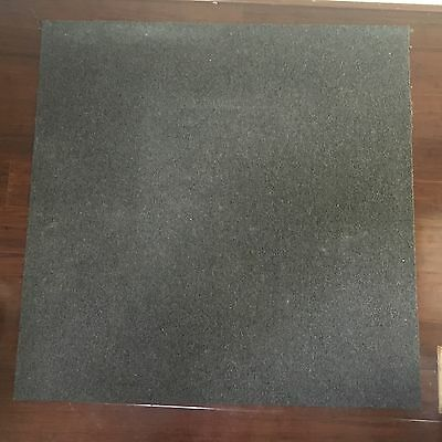 1mx 1m charcoal grey carpet tiles x20