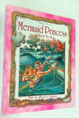 The Mermaid Princess Jigsaw Book : With Six 48-Piece Jigsaws by Shirley Barber
