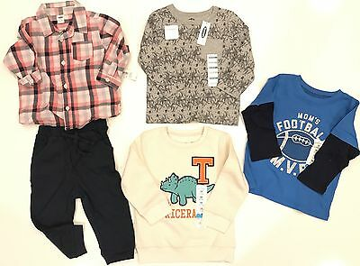 Baby Boys New 5pc Lot Clothing Size 24M (Old Navy/Jumping Beans)
