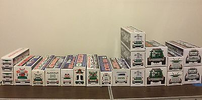 19 Hess Trucks 1988 through 2011 . Asst. Lot *Mint Condition* Never Opened