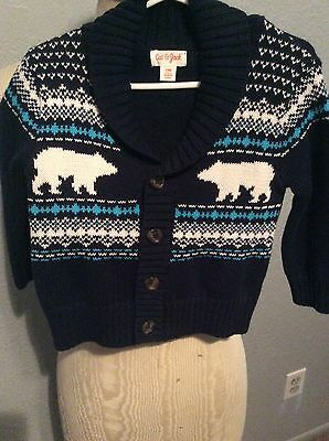 Cat & Jack Infant Boys Sweater , 18 Months, Button Up