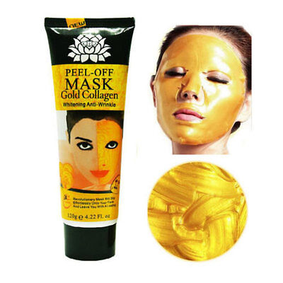 Gold Collagen Facial Face Mask High Moisture Anti-Aging Remove Wrinkle Care