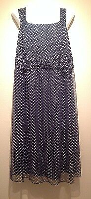 2pc Suit Church, Mother Of The bride silver/ navy beautiful 18w nwt