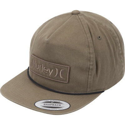 Hurley Corp Wash Mens Headwear Cap - Faded Olive One Size