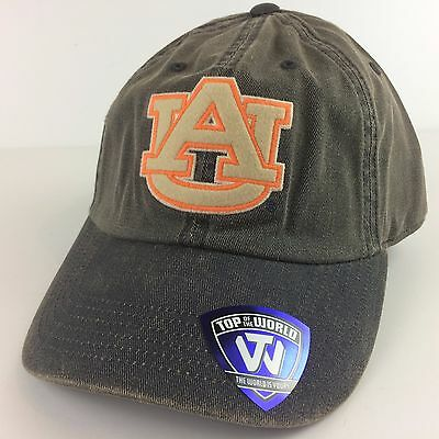 4bd6e5c577934 Olive Drab Auburn Tigers UA Adjustable dad hat cap by Top of the World NEW